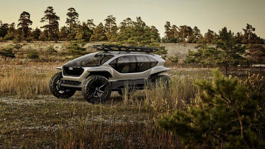 Audi AI:TRAIL quattro, el todoterreno eléctrico del futuro