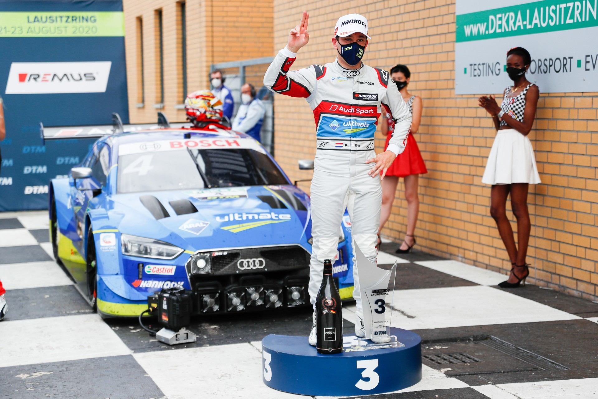 Audi suma otra victoria en el DTM, pero pierde su racha