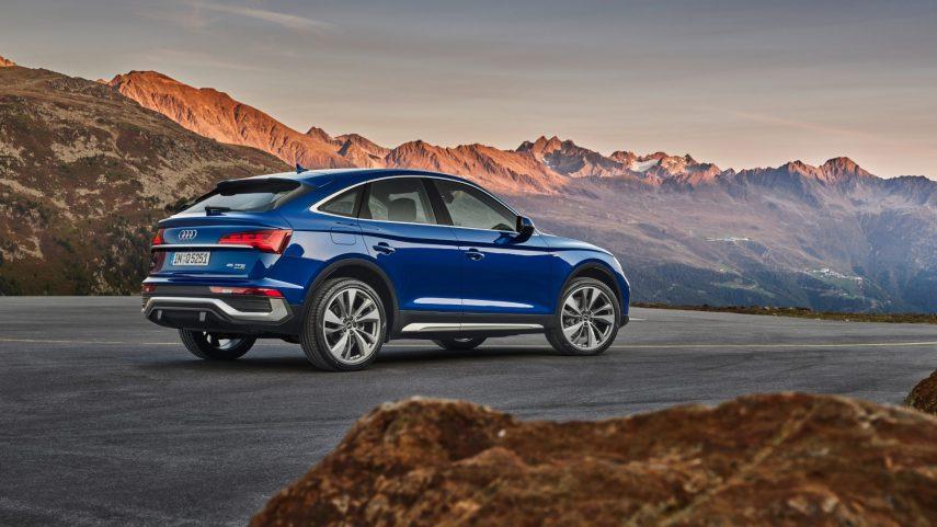 Audi Q5 Sportback, el SUV alemán se suma a la moda coupe y llegará en 2021