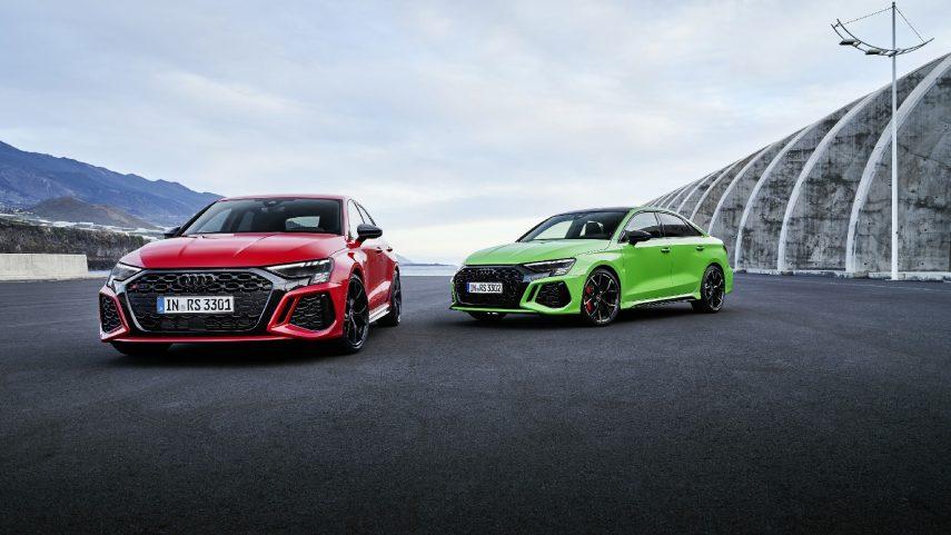El nuevo Audi RS3 se apunta al modo drift