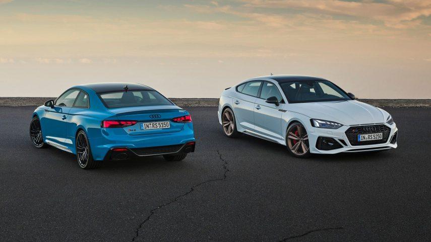 Audi RS5 Coupé y Audi RS5 Sportback 2020, puesta al día con pequeños detalles