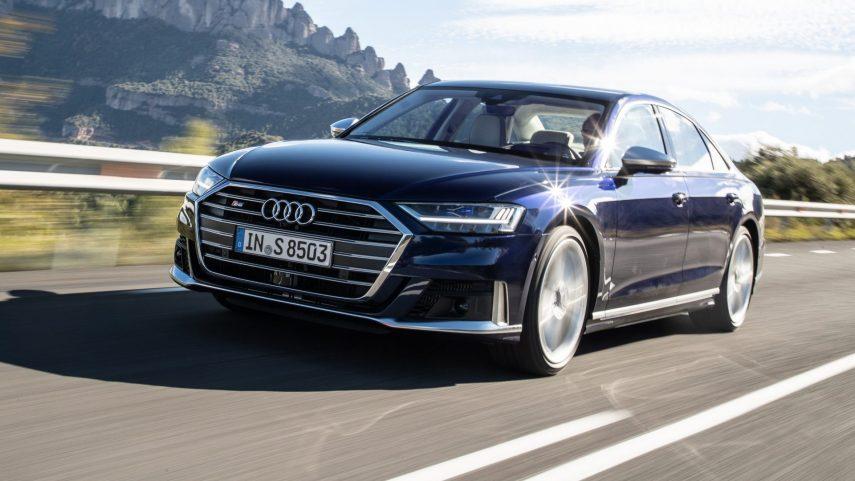 Audi S8, ahora con hibridación suave y 571 CV