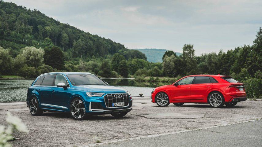 Los Audi SQ7 y Audi SQ8 con motor V8 TFSI ya están disponibles en España
