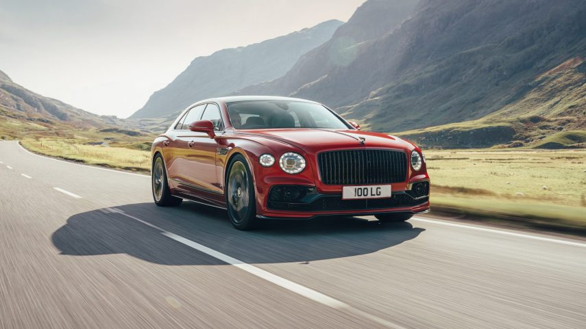 El Bentley Flying Spur adopta el motor V8 de 550 CV