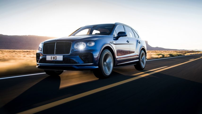 Llega el restyling al Bentley Bentayga Speed