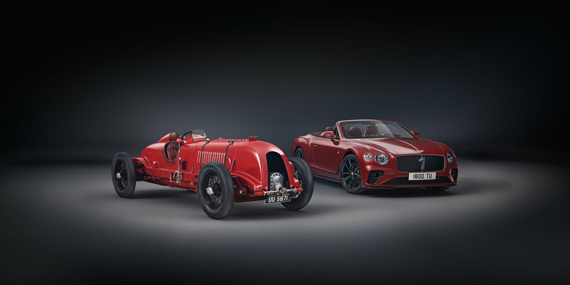 Bentley Continental GT Convertible Number 1 Edition by Mulliner, homenaje en el centenario