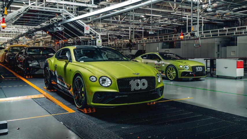 Bentley Continental GT Pikes Peak by Mulliner, para festejar dos acontecimientos