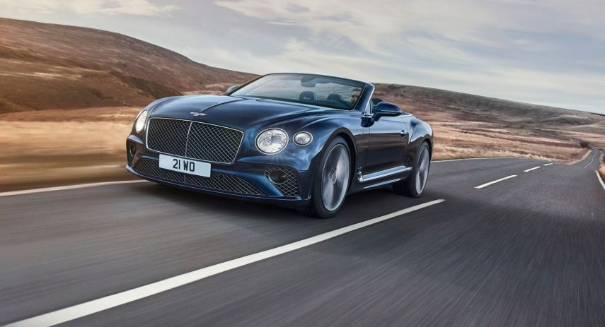 Bentley Continental GT Speed Convertible (1)