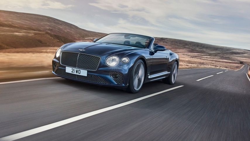 El Bentley Continental GT Speed se descapota