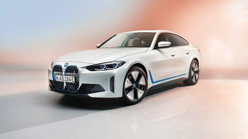 Se publican las primeras imágenes oficiales del BMW i4