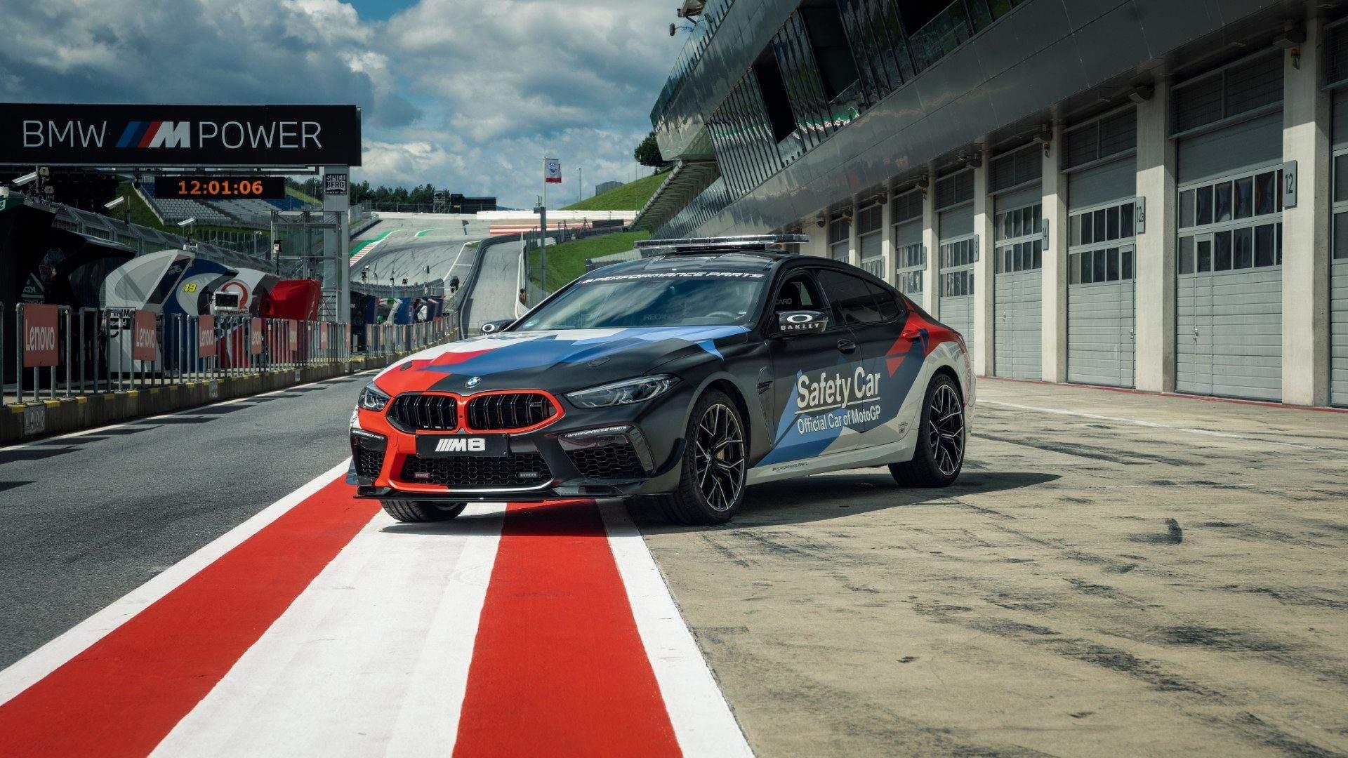 El BMW M8 Gran Coupé 2021, el nuevo Safety Car de MotoGP