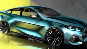 BMW serie 2 Gran Coupe bocetos 2