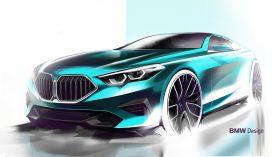 BMW serie 2 Gran Coupe bocetos 4