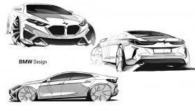 BMW serie 2 Gran Coupe bocetos 6