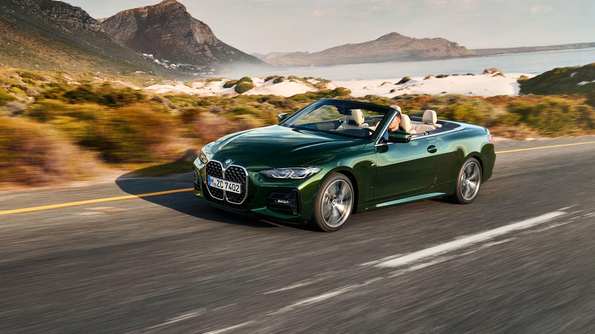 El BMW Serie 4 Cabrio abandona el techo metálico en su nueva generación