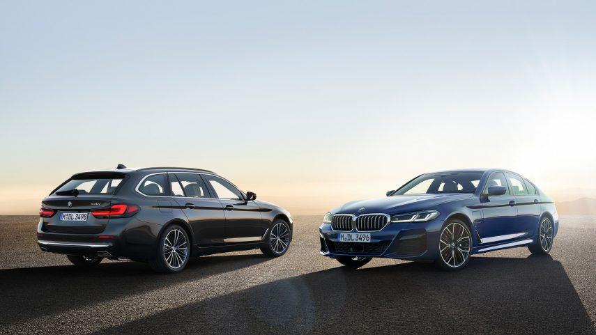 El restyling del BMW Serie 5 ya está listo y estrena nuevos motores electrificados