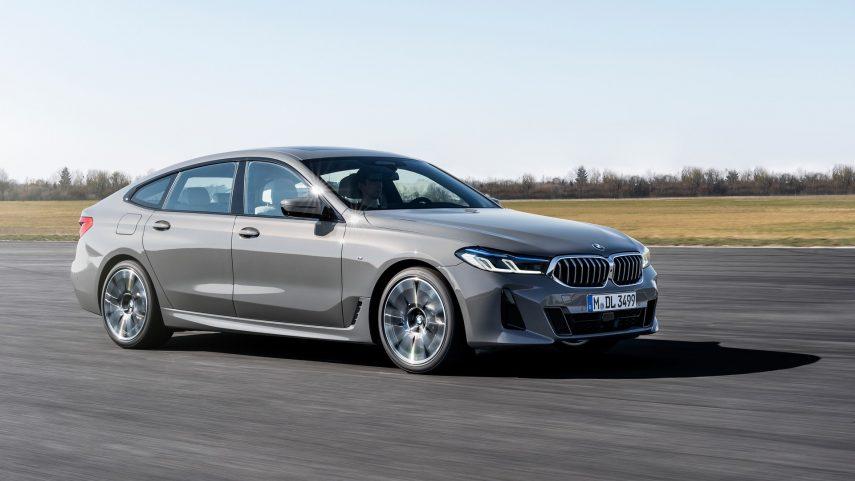 El BMW Serie 6 Gran Turismo también se somete a un restyling