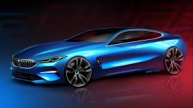 BMW Serie 8 Gran Coupe Sketches 2019 3