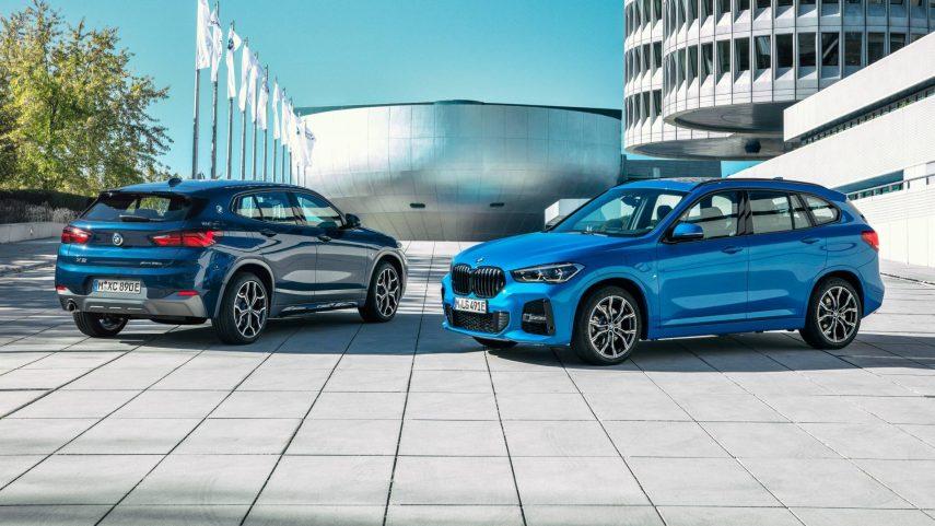 Nuevos BMW X1 xDrive25e y BMW X2 xDrive25e