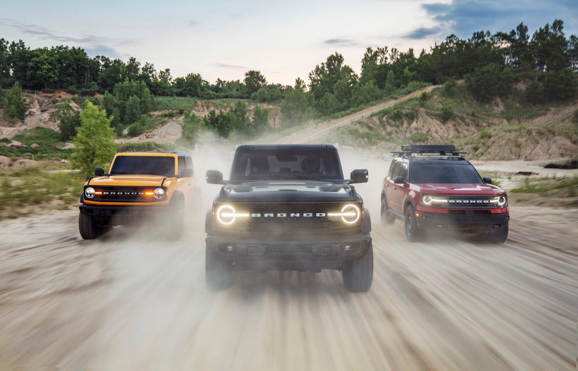 2021 Ford Bronco, la leyenda renace