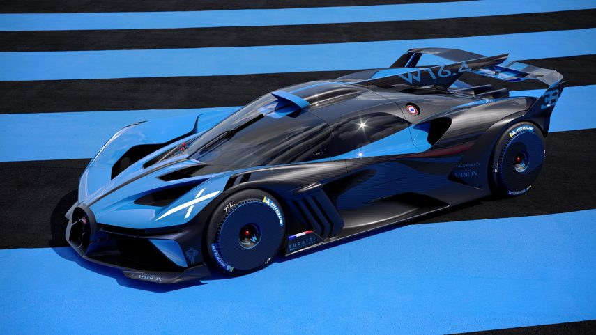 Bugatti Bolide, un W16 a por los 500 km/h