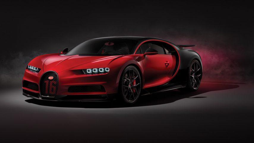 La versión más tramera del Bugatti Chiron se apellida Sport