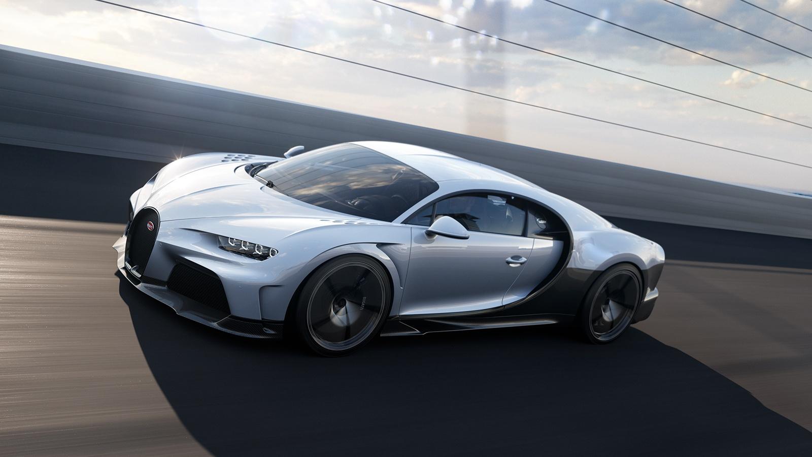 "El Bugatti Chiron Super Sport es el ""long tail"" más brutal"