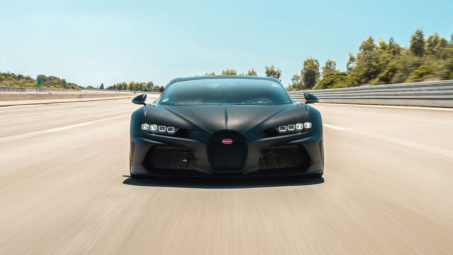 Los Bugatti Chiron Pur Sport y SuperSport 300+ están de pruebas en Nardò