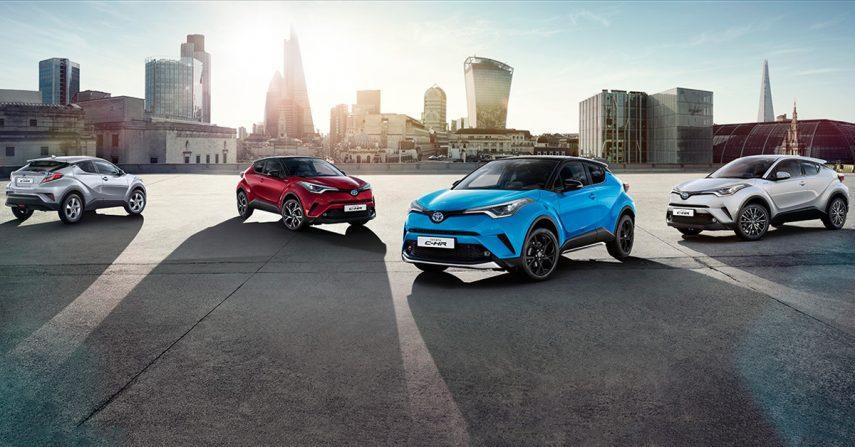 El Toyota C-HR Hybrid actualiza su equipamiento