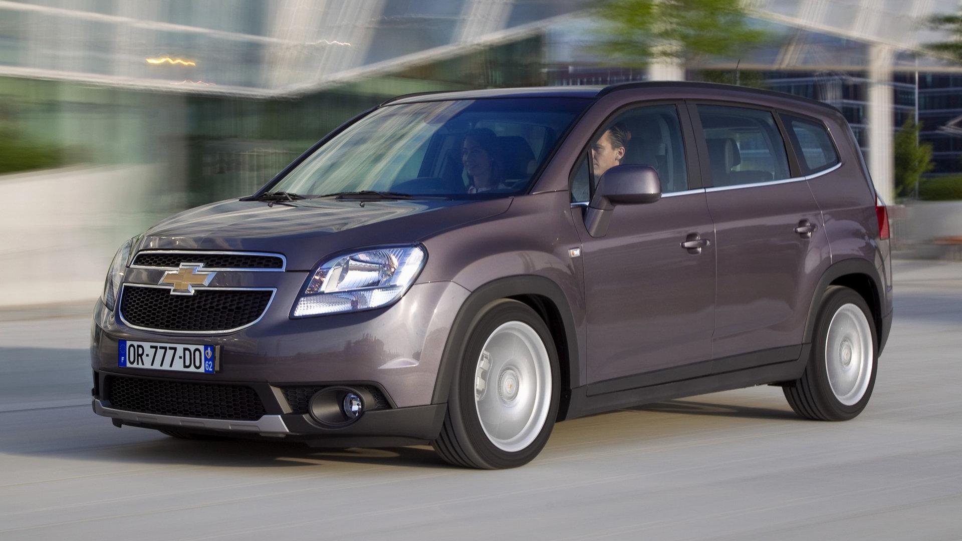 Coche del día: Chevrolet Orlando (J309)