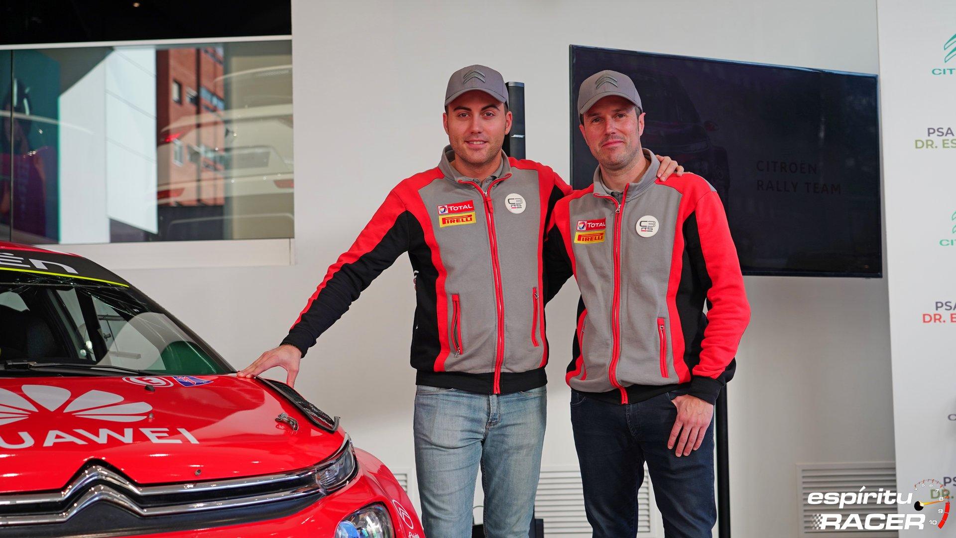 Citroën, Pepe López y Borja Rozada: a por el Supercampeonato