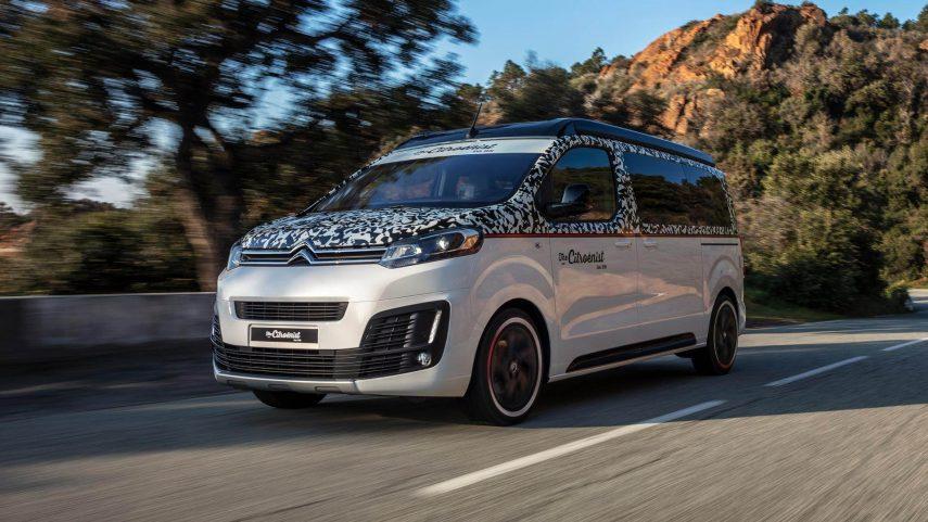 Citroën SpaceTourer The Citroënist Concept, un camper diferente y llamativo