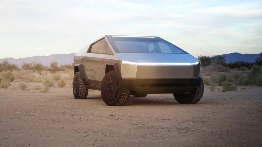 "Tesla Cybertruck, un pick-up eléctrico inspirado en ""Blade Runner"""