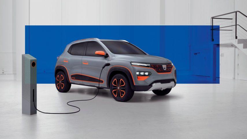 Dacia Spring Electric Show Car, el primer eléctrico de la marca