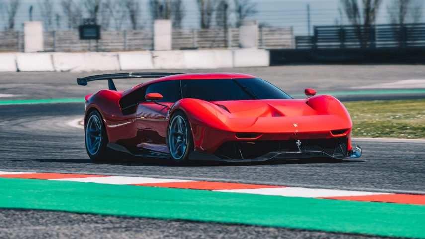 Ferrari P80/C, un modelo único nacido sin restricciones