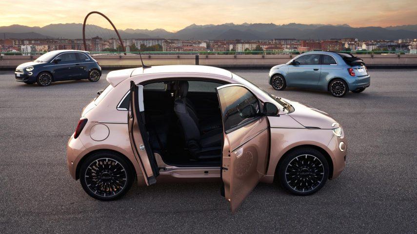 """El FIAT 500e se vuelve un poco más práctico con la nueva versión """"3+1"""""""