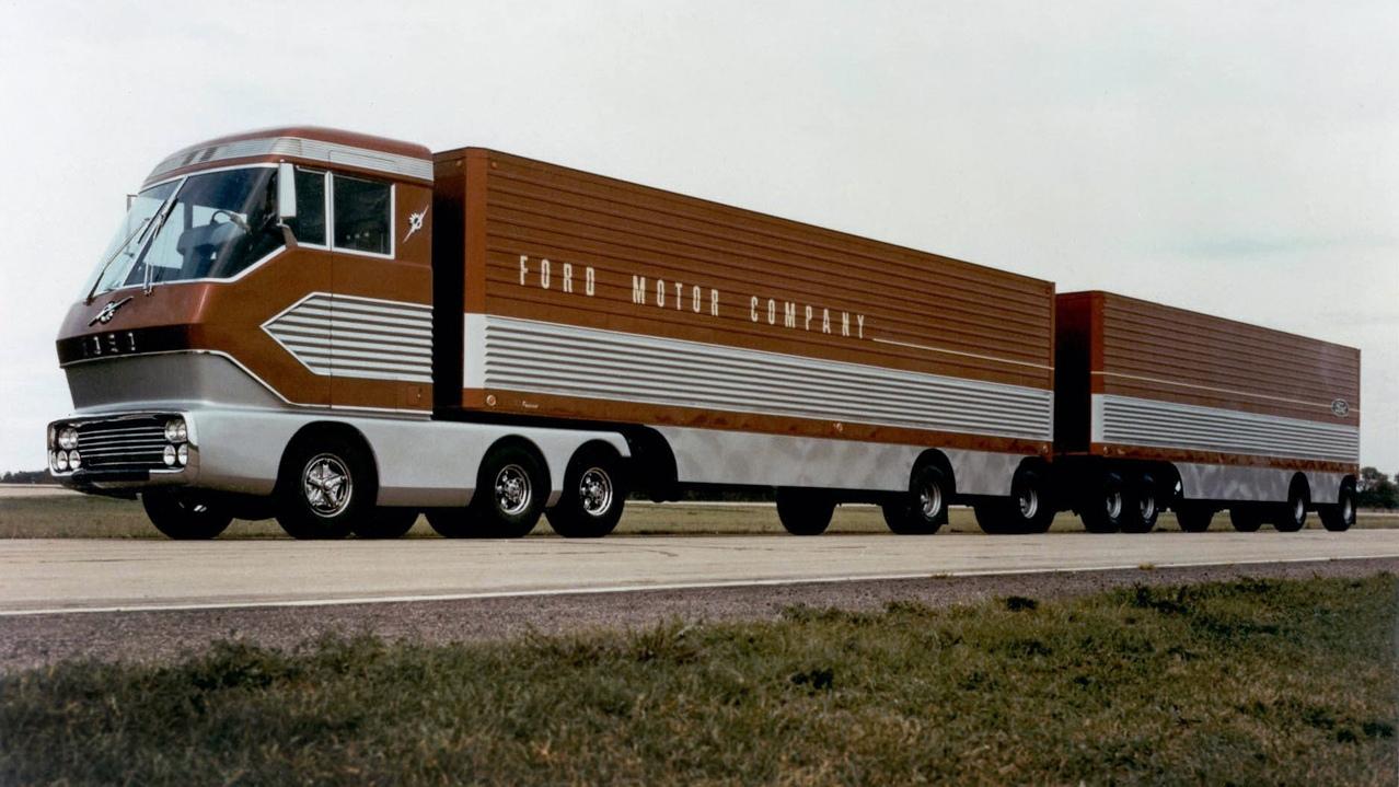 Ford Big Red, el camión turbina que ha estado 40 años desaparecido