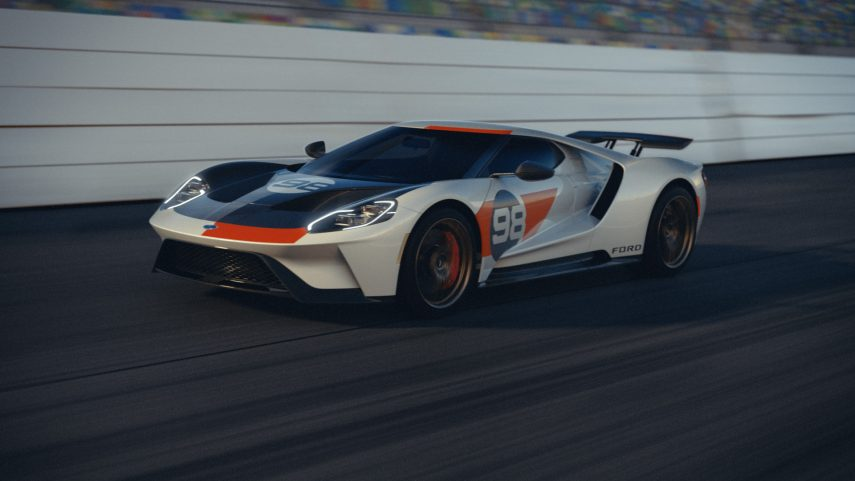 El Ford GT se reinventa con el Heritage Edition y Studio Collection