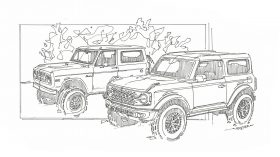 FordBronco Sketch 1