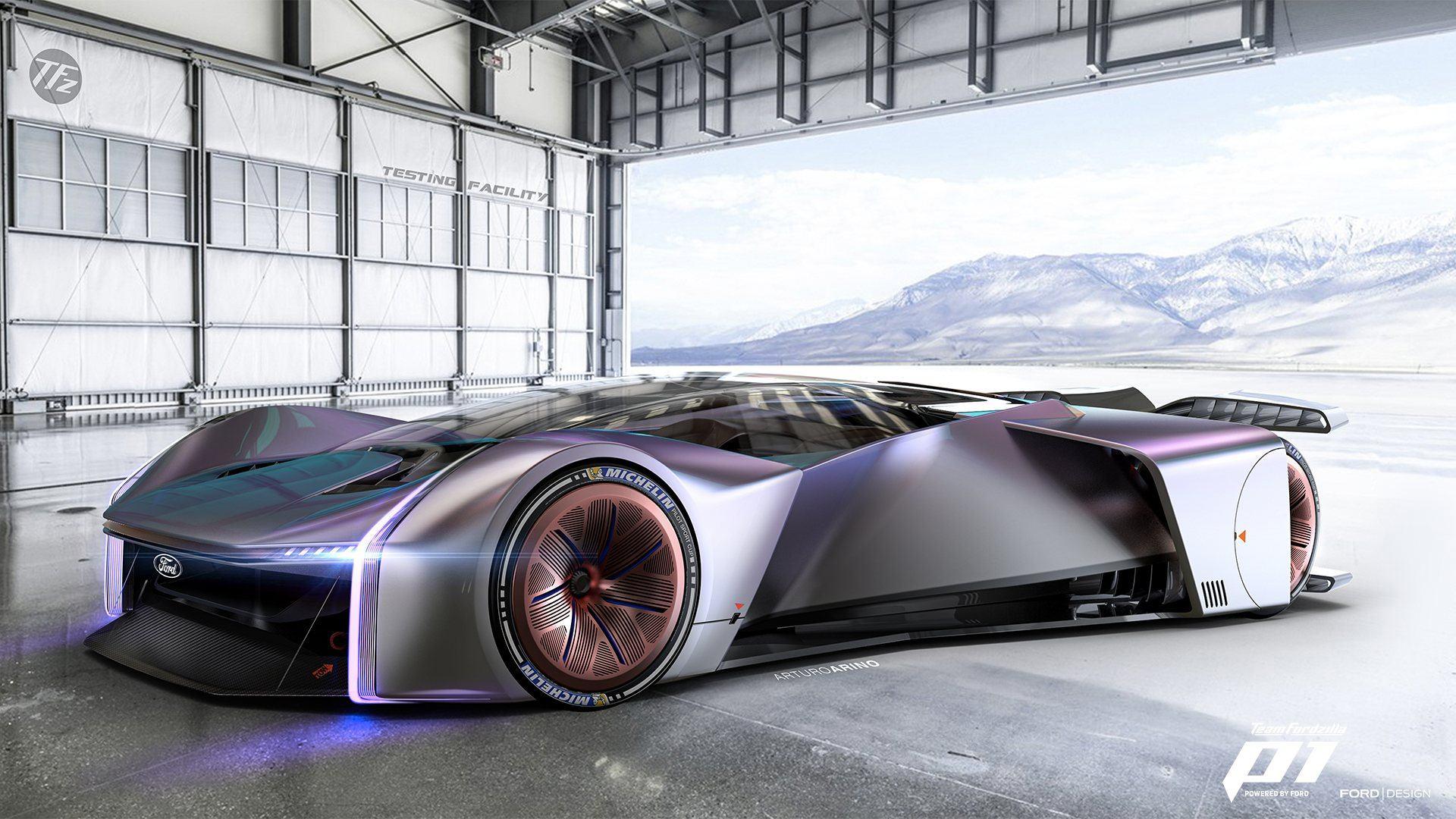 """Fordzilla P1 Concept, el coche virtual diseñado con la ayuda de los """"gamers"""""""