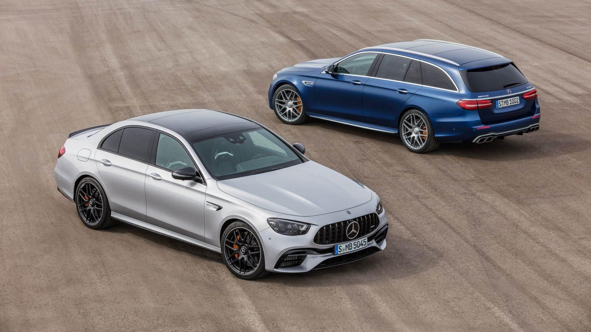 Nueva imagen y pequeños cambios para el Mercedes-AMG E63 y E63 Estate