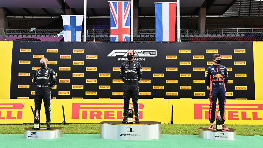 Hamilton vence en el GP de Estiria