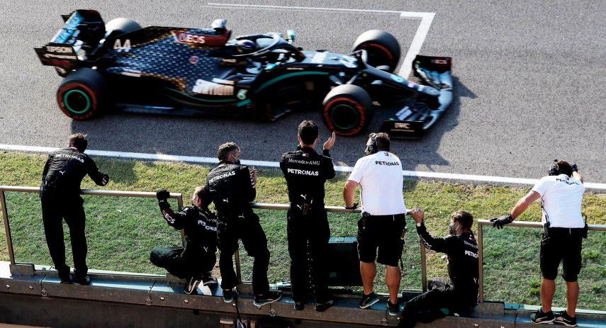 Hamilton 2 GP Toscana 2020