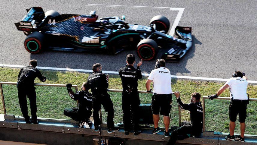 Lewis Hamilton gana el Gran Premio de la Toscana