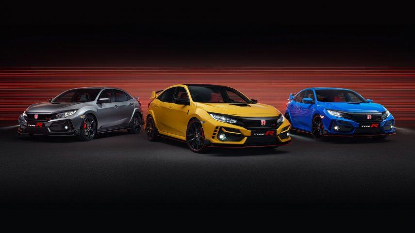Honda Civic Type R, nuevas versiones y ligeros retoques