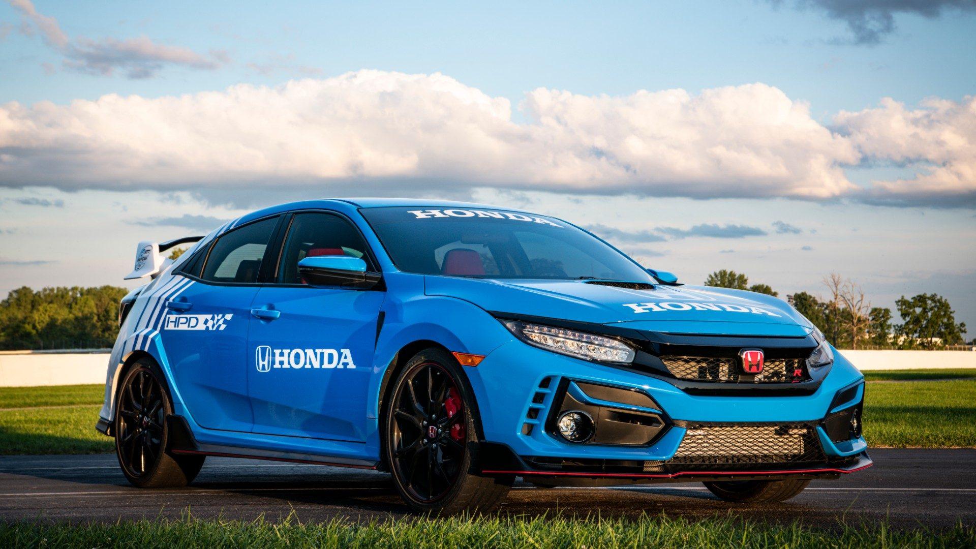 Honda Civic Type R 2020, el nuevo coche de seguridad para la Indycar