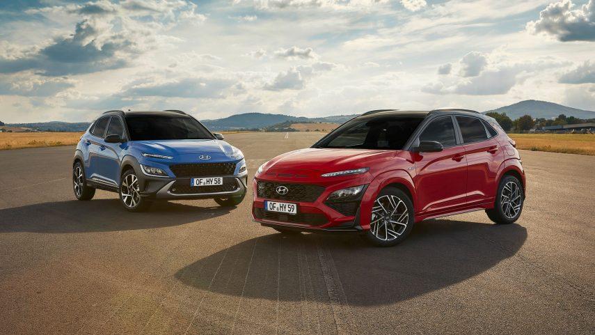 Nuevo Hyundai Kona, ligero cambio de diseño y nuevos motores