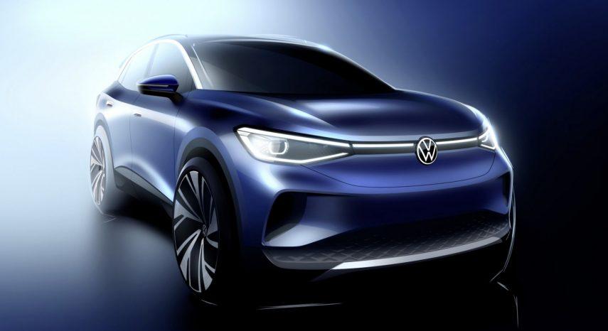 Volkswagen avanza el diseño exterior del ID.4