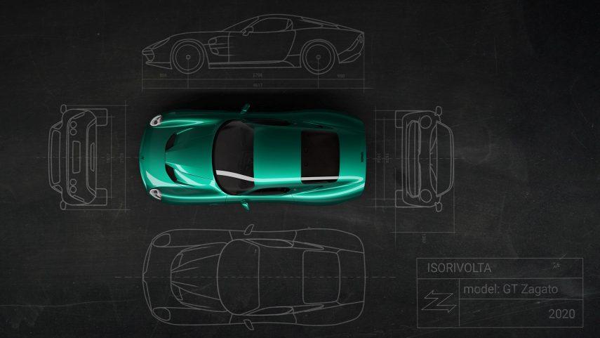 Iso Rivolta GTZ, 19 unidades para todo el mundo animadas por el V8 del Corvette Z06