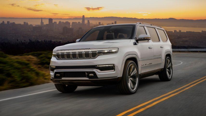 Jeep Grand Wagoneer Concept, vuelve el lujo a la firma norteamericana